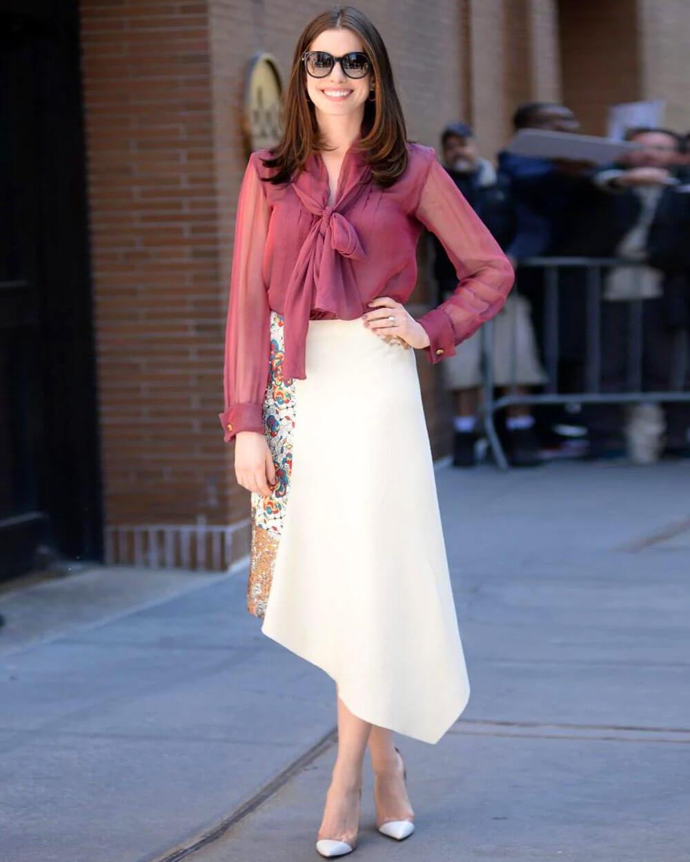 Anne Hathaway Slow Fashion Celebrity