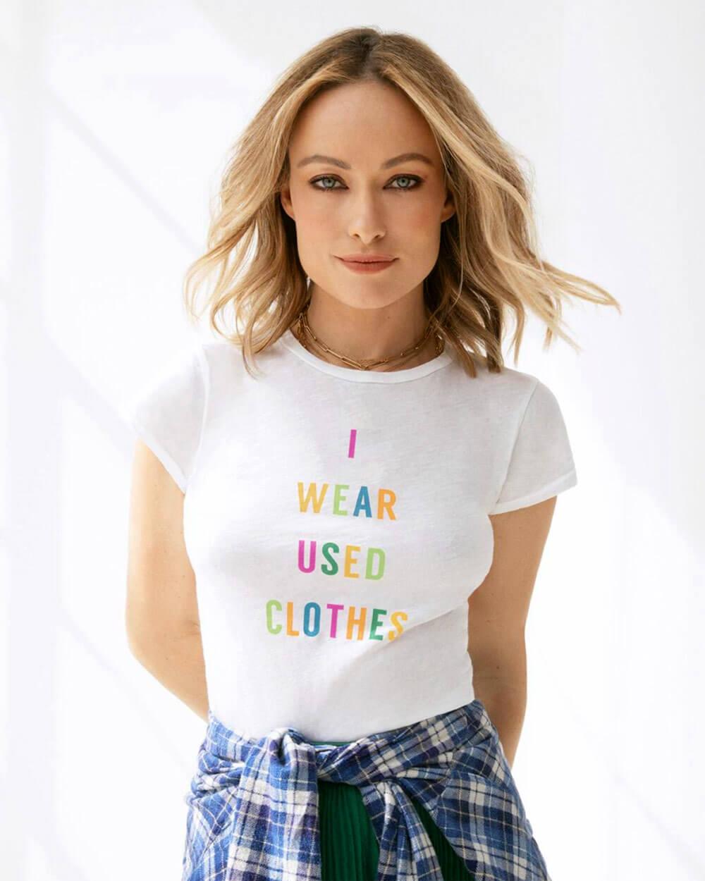 Olivia Wilde Slow Fashion Celebrity