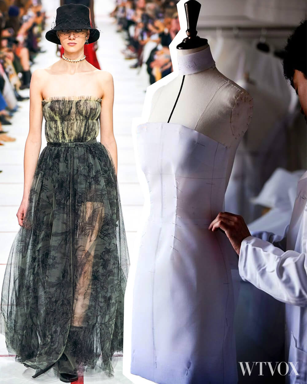 Slow fashion from production to runway