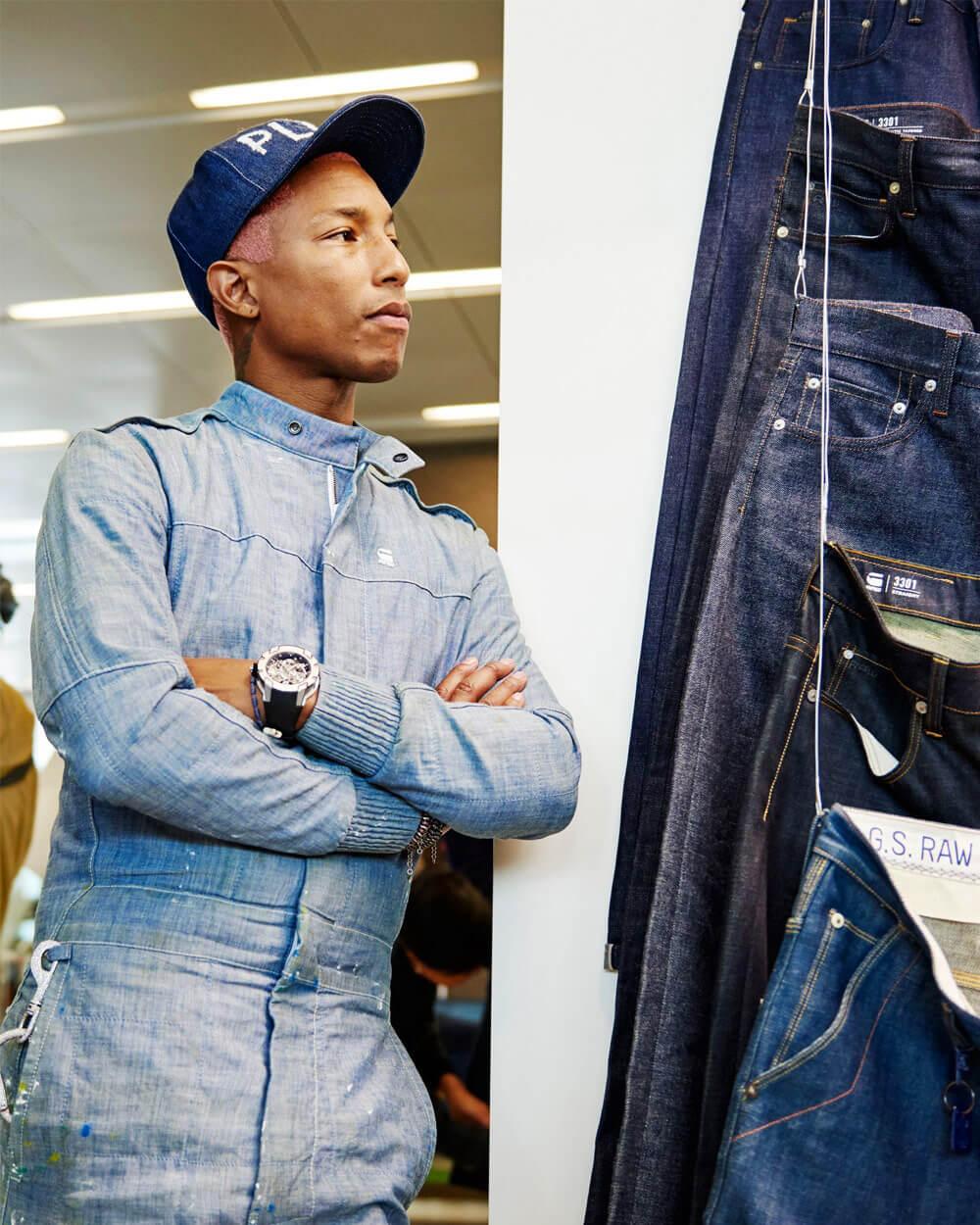 Pharrell Williams Slow Fashion Celebrity