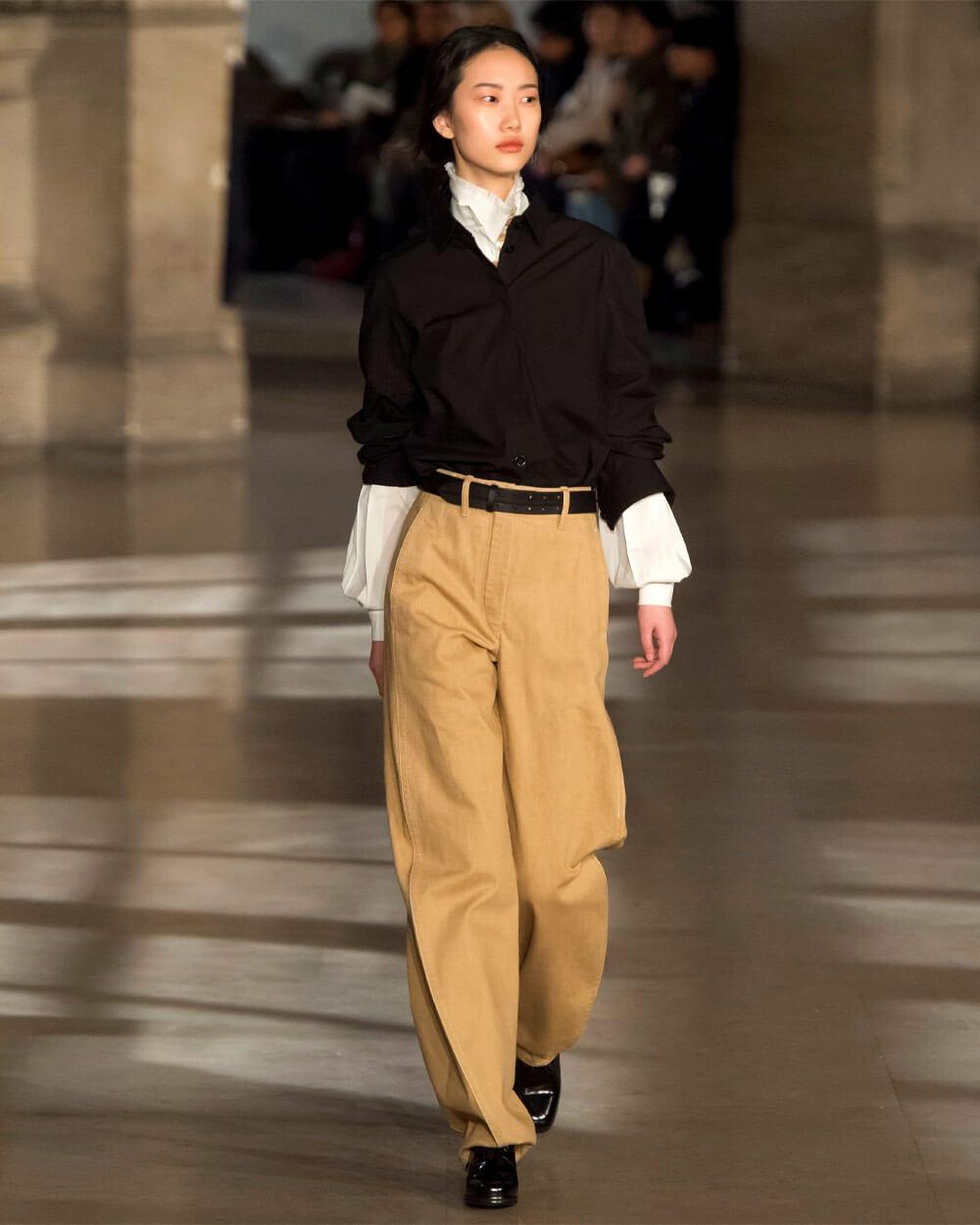 Dark academia designer fashion