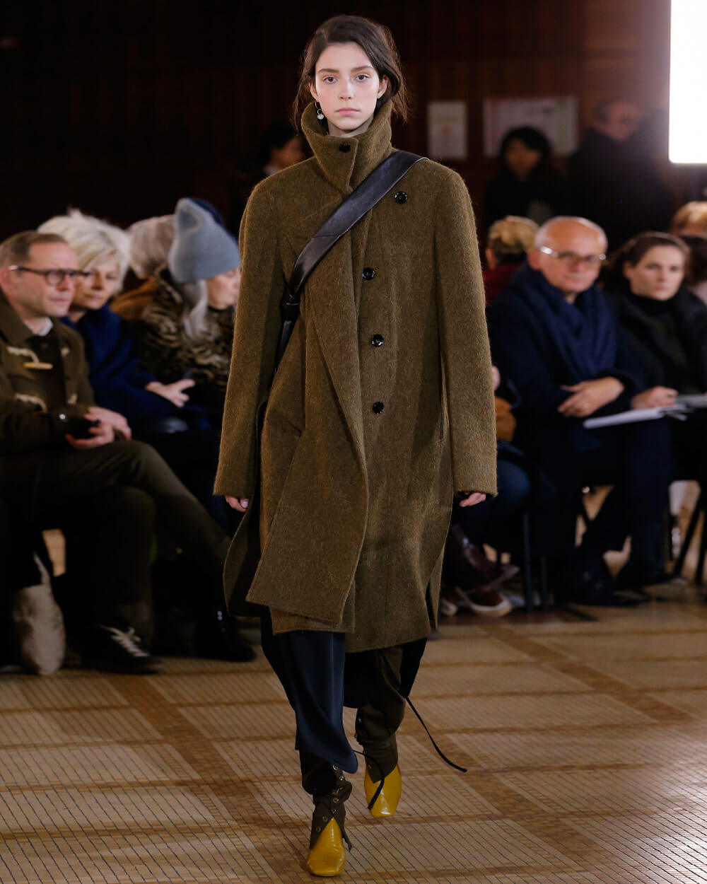 Lemaire Dark Academia look - Fall 2018 Ready-to-Wear Collection