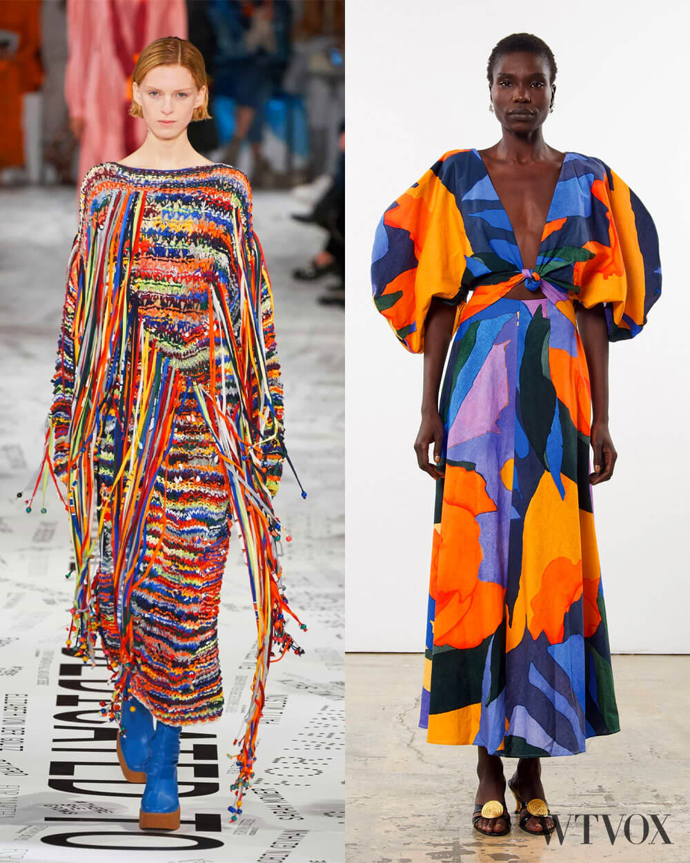 Colourful fashion trends fall 2020