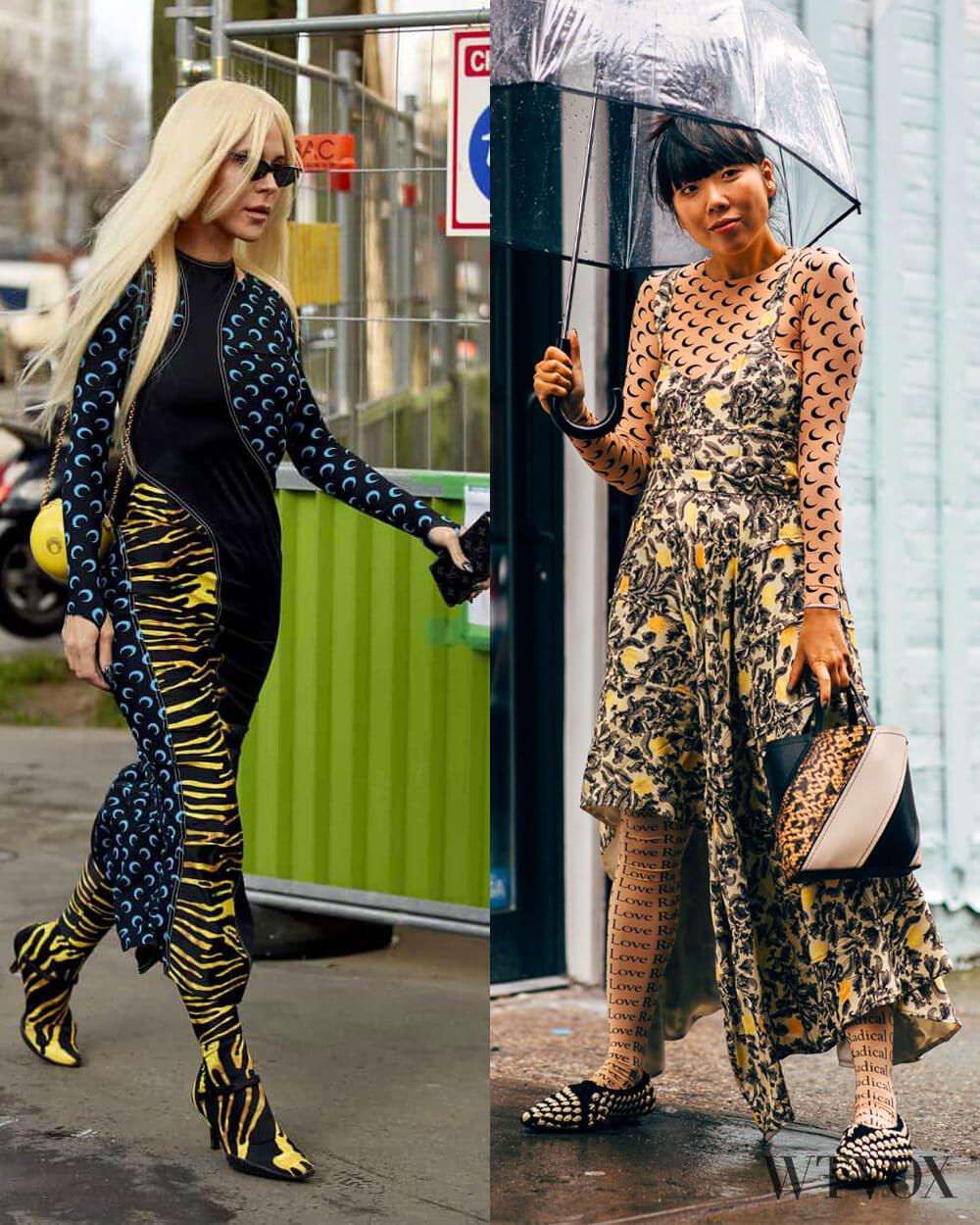 Print fashion trend fall 2020