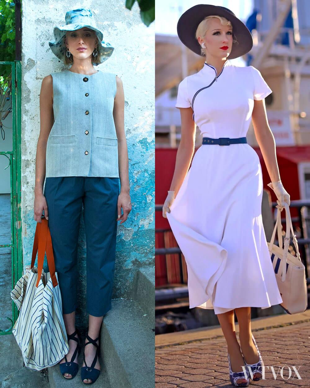 Vintage fall fashion trend