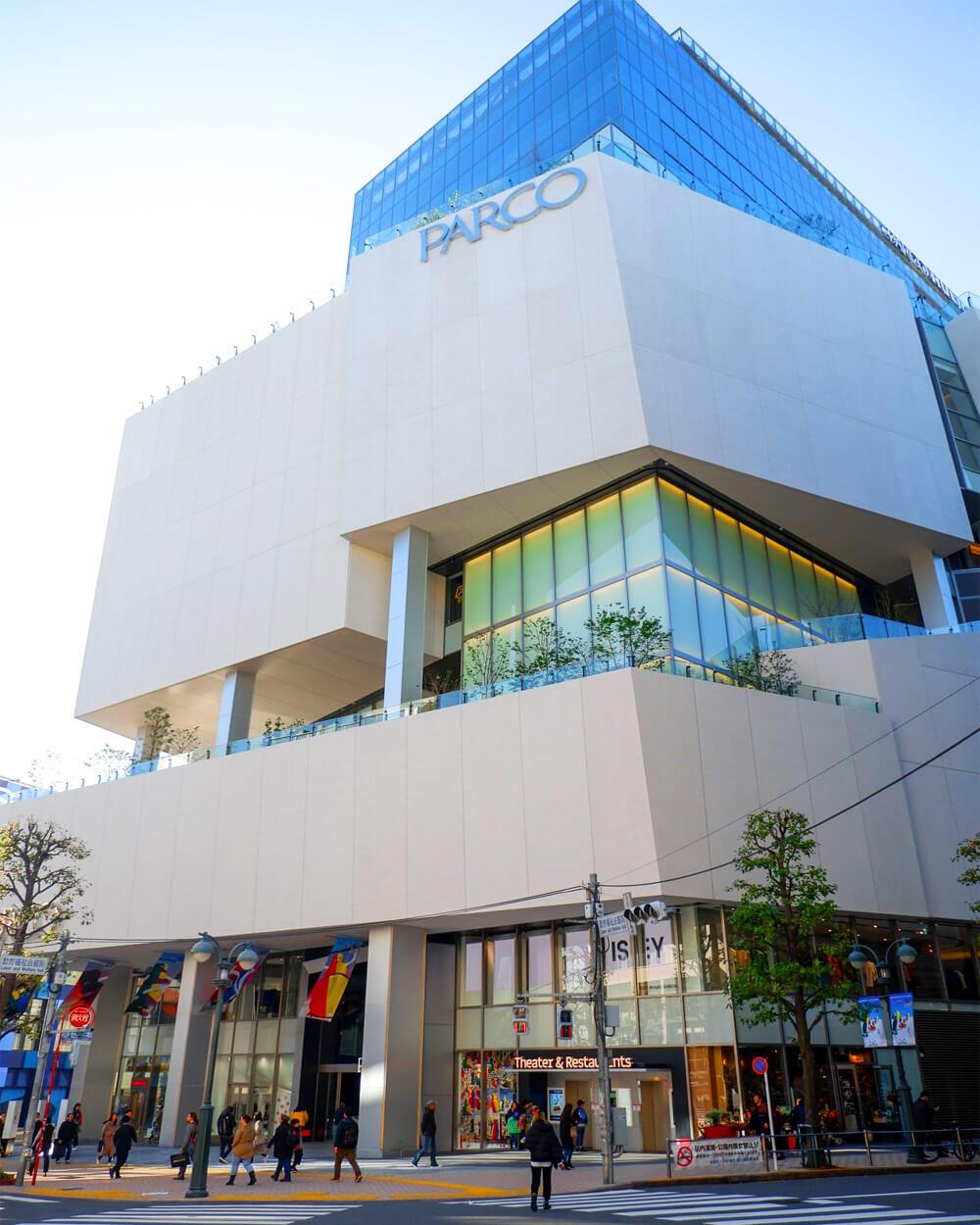 Parco department store Japan
