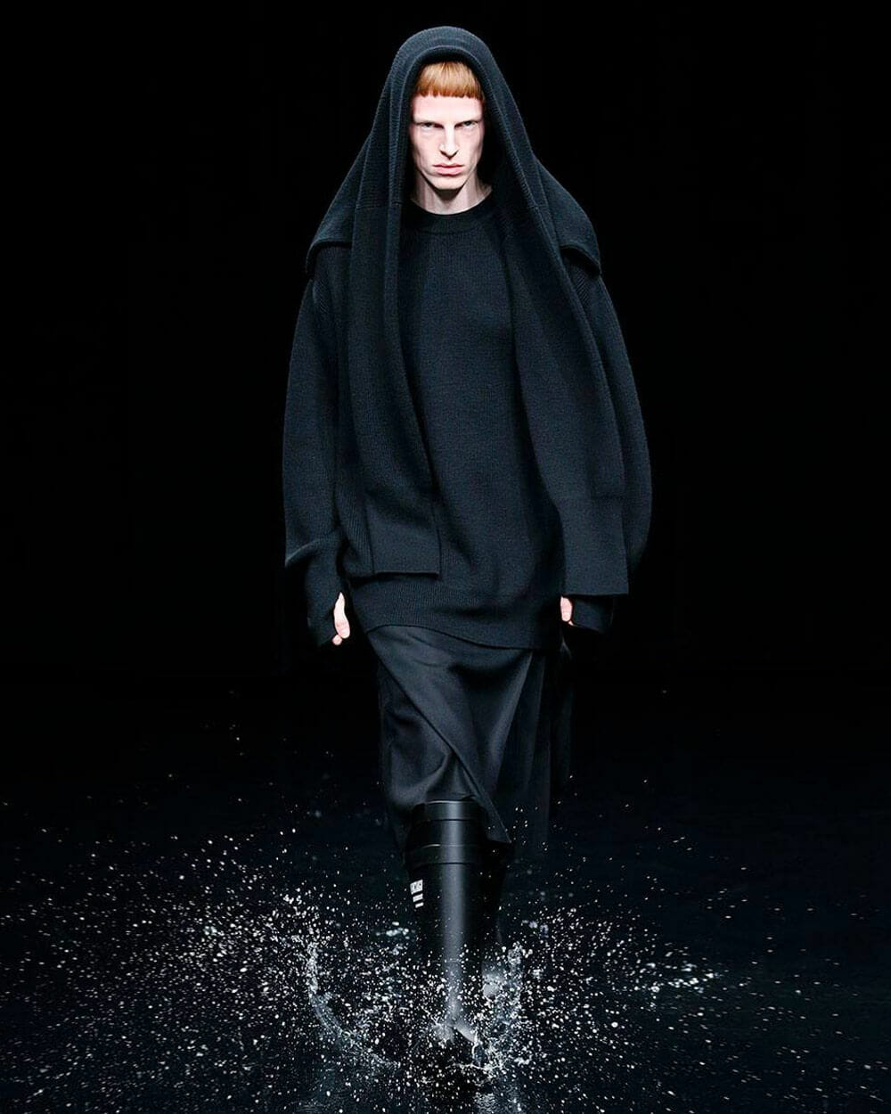 Balenciaga apocalyptic Fall/Winter '20 Paris Fashion Week