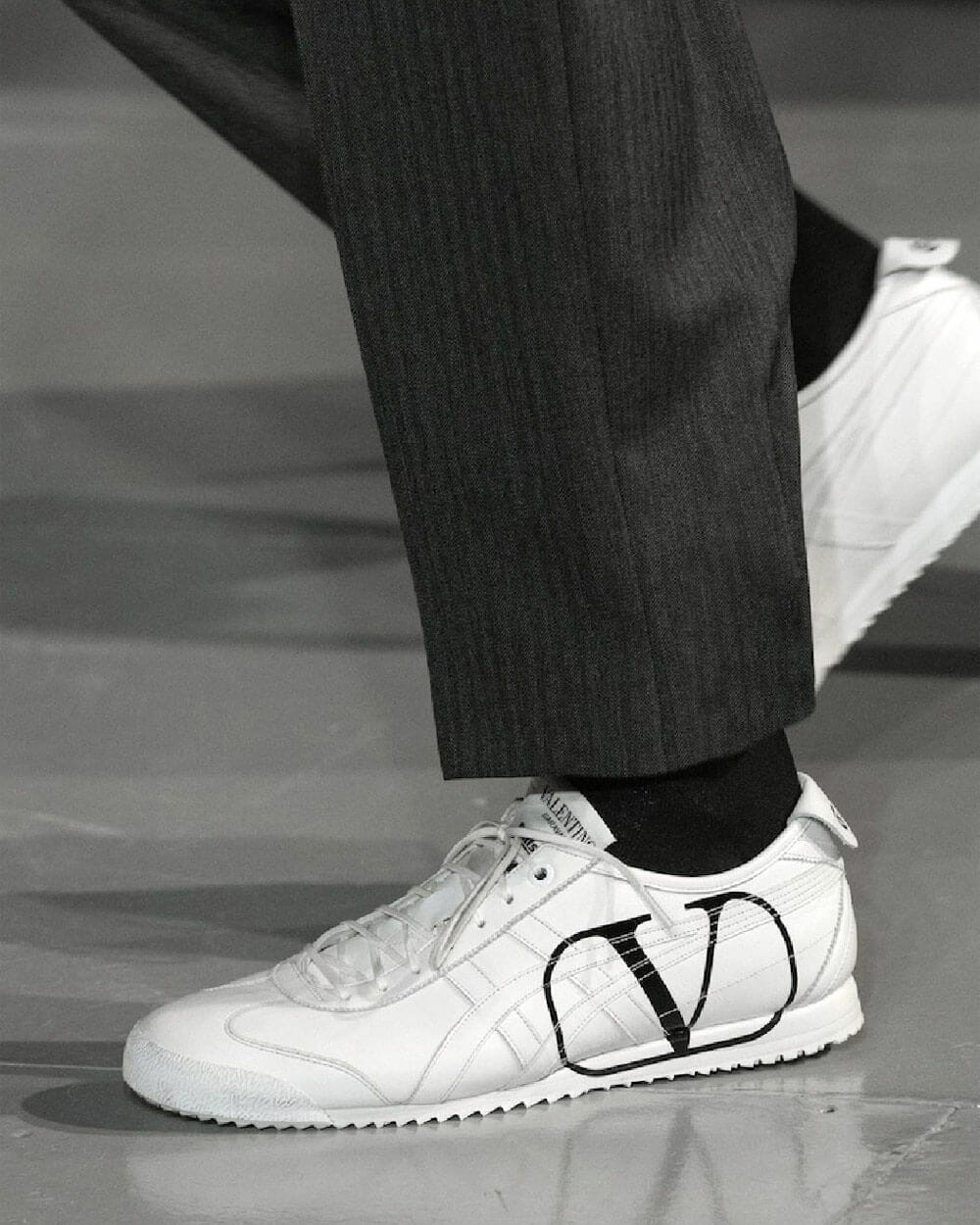 Valentino sneaker collaboration with Onitsuka Tiger
