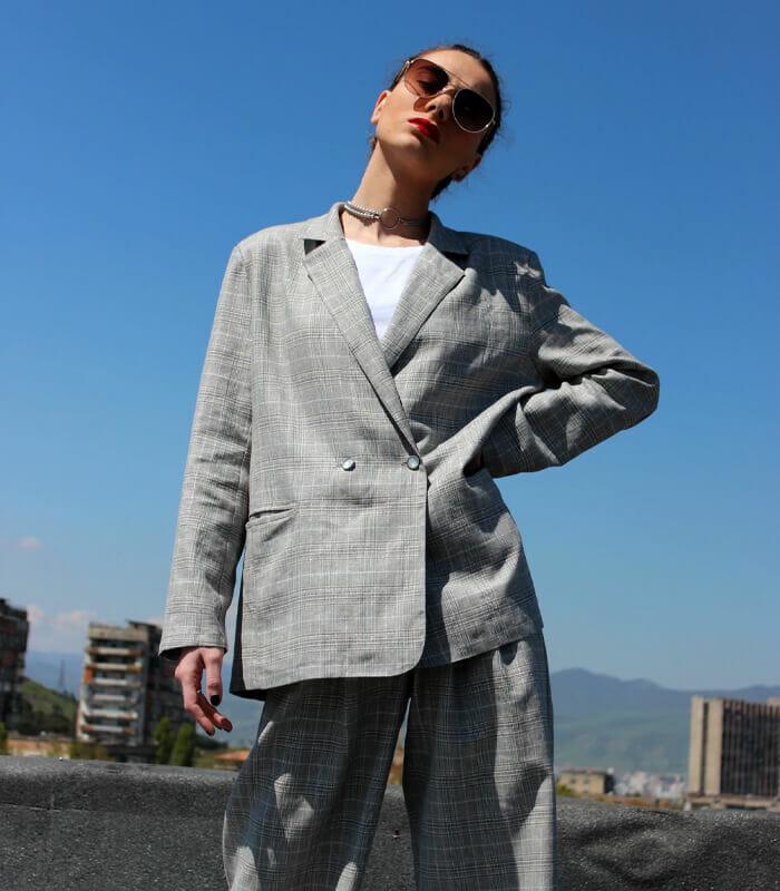 /id/ oversized blazer