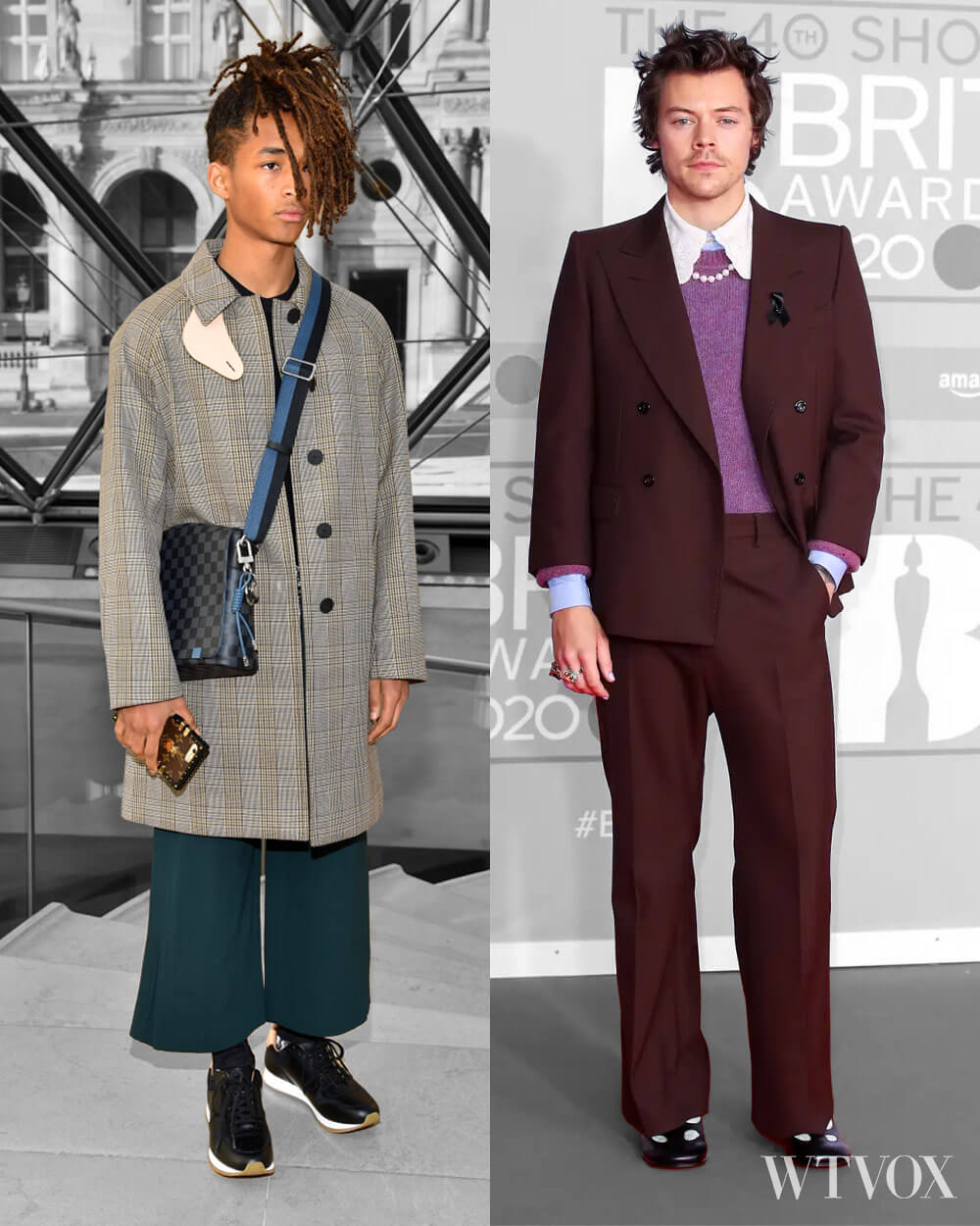 Jaden Smith and Harry Styles in Androgynous Fashion