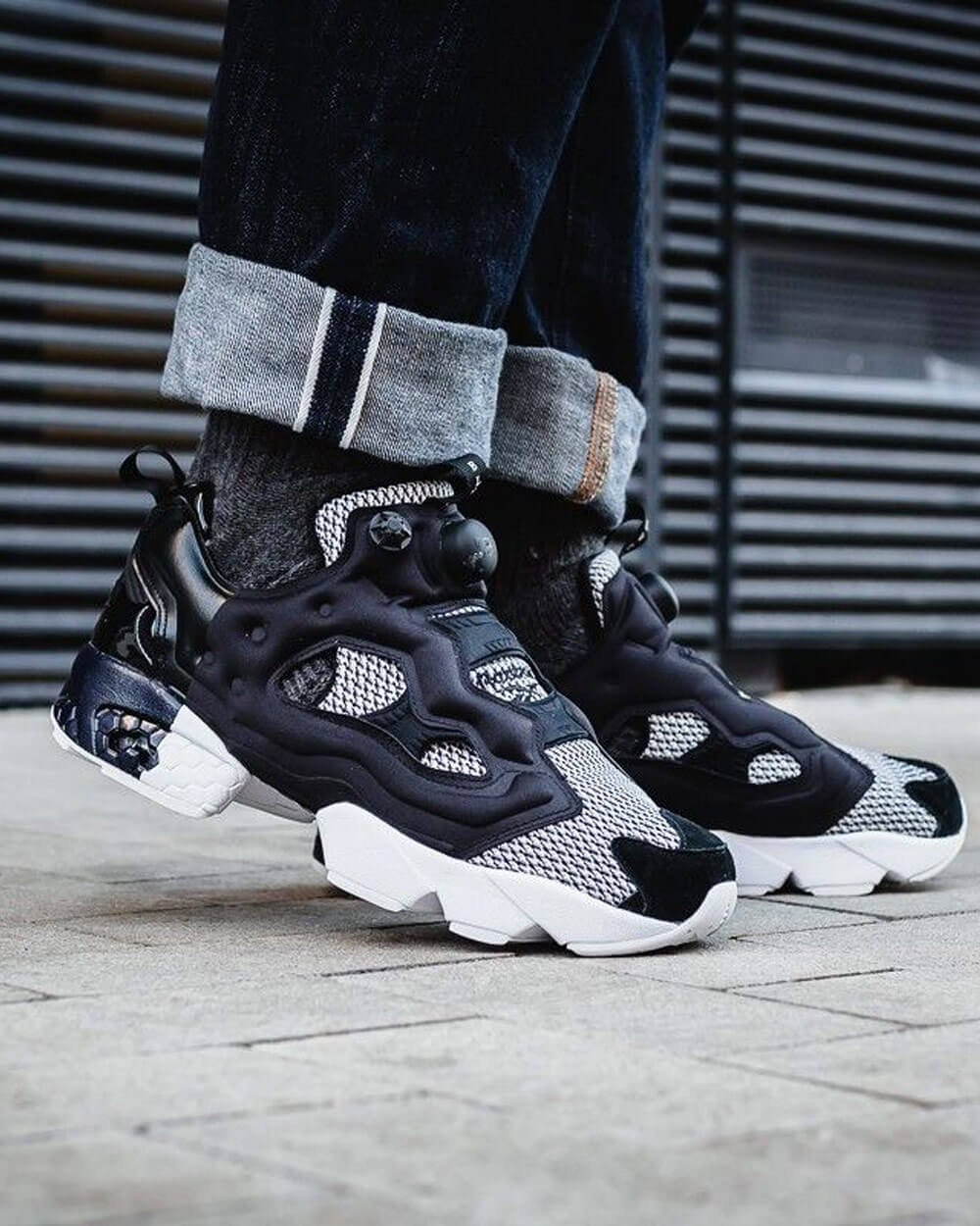 Reebok Instapump Fury tech sneakers