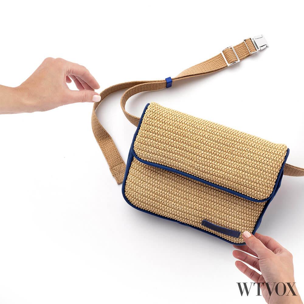 Krnach Capri sustainable belt bag
