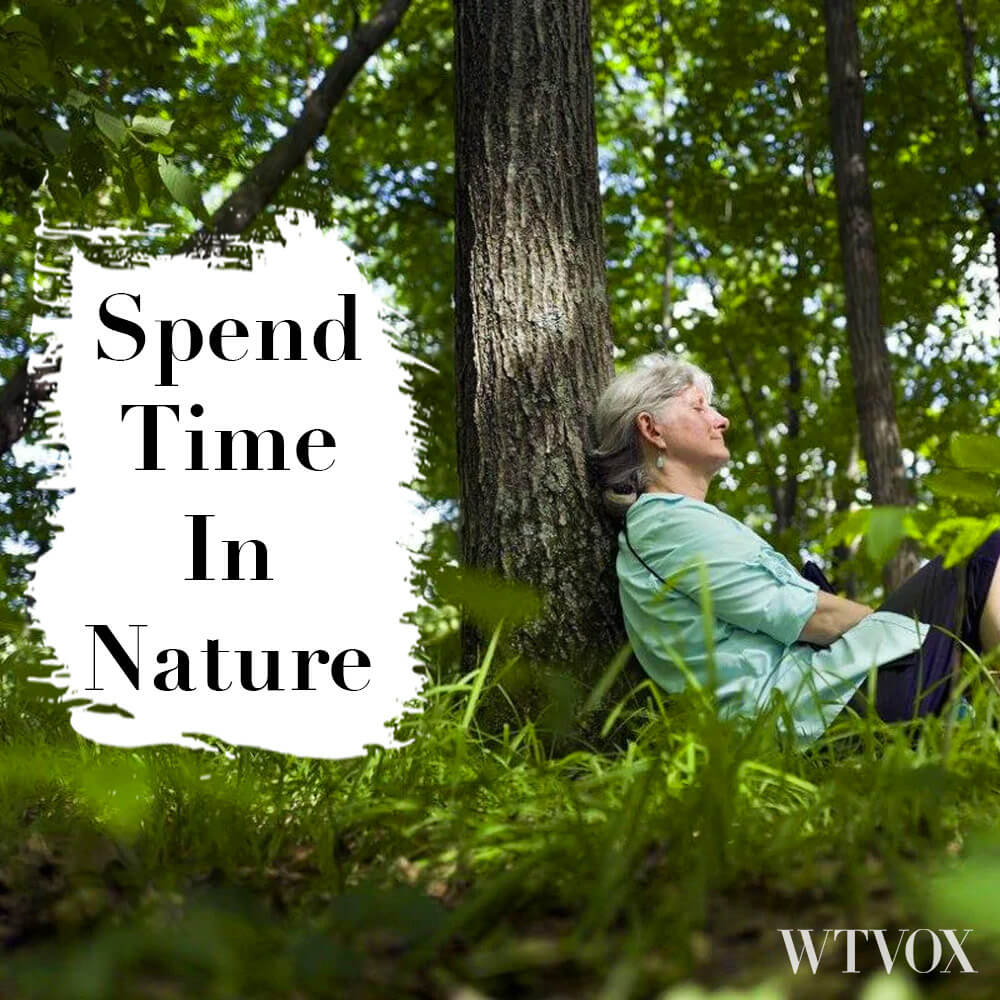Spend more time in nature