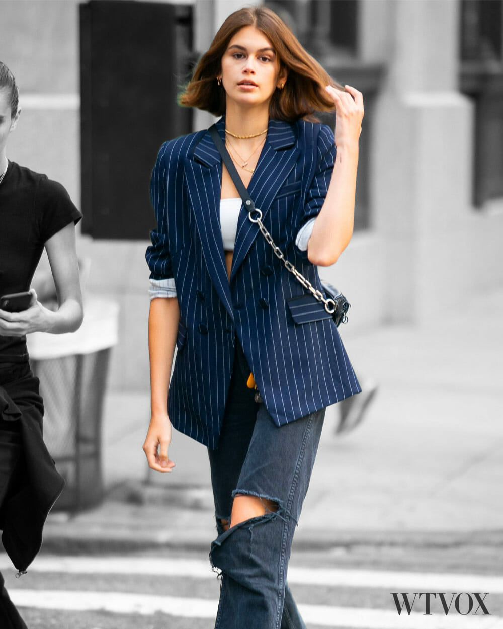 Kaia Gerber Streetwear Fashion Style