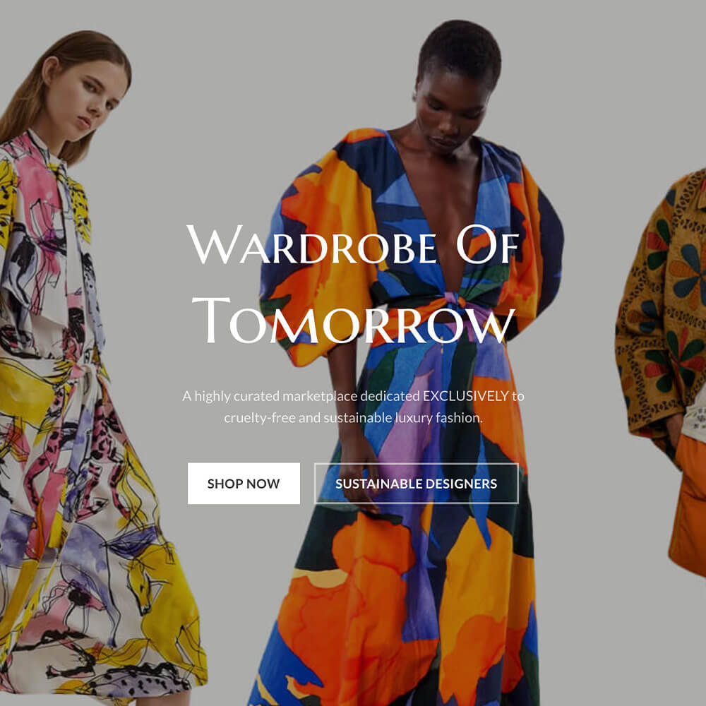 Wardrobe of Tomorrow sustainable fashion startups