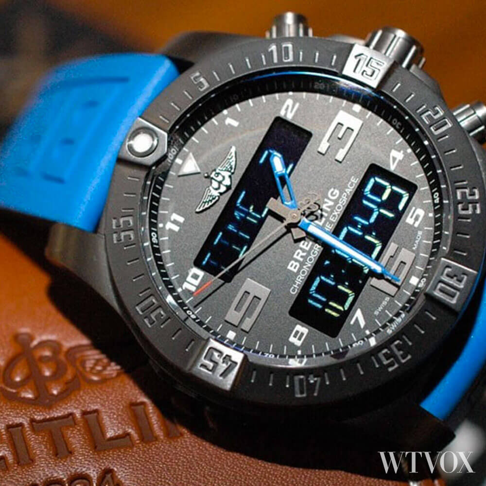 Breitling Exospace Black Titanium Luxury Smartwatch