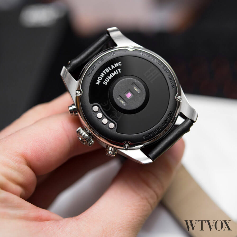 Montblanc Summit 2 luxury smartwatch