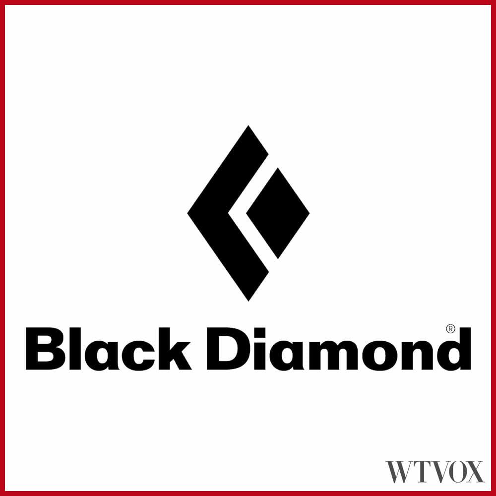Black Diamond Outdoor clothing brands logo