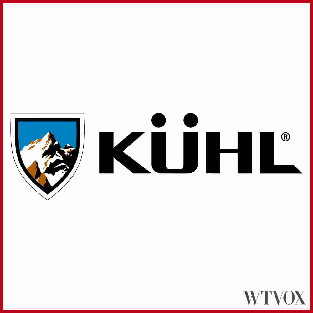 Outdoor clothing brands logos - KÜHL