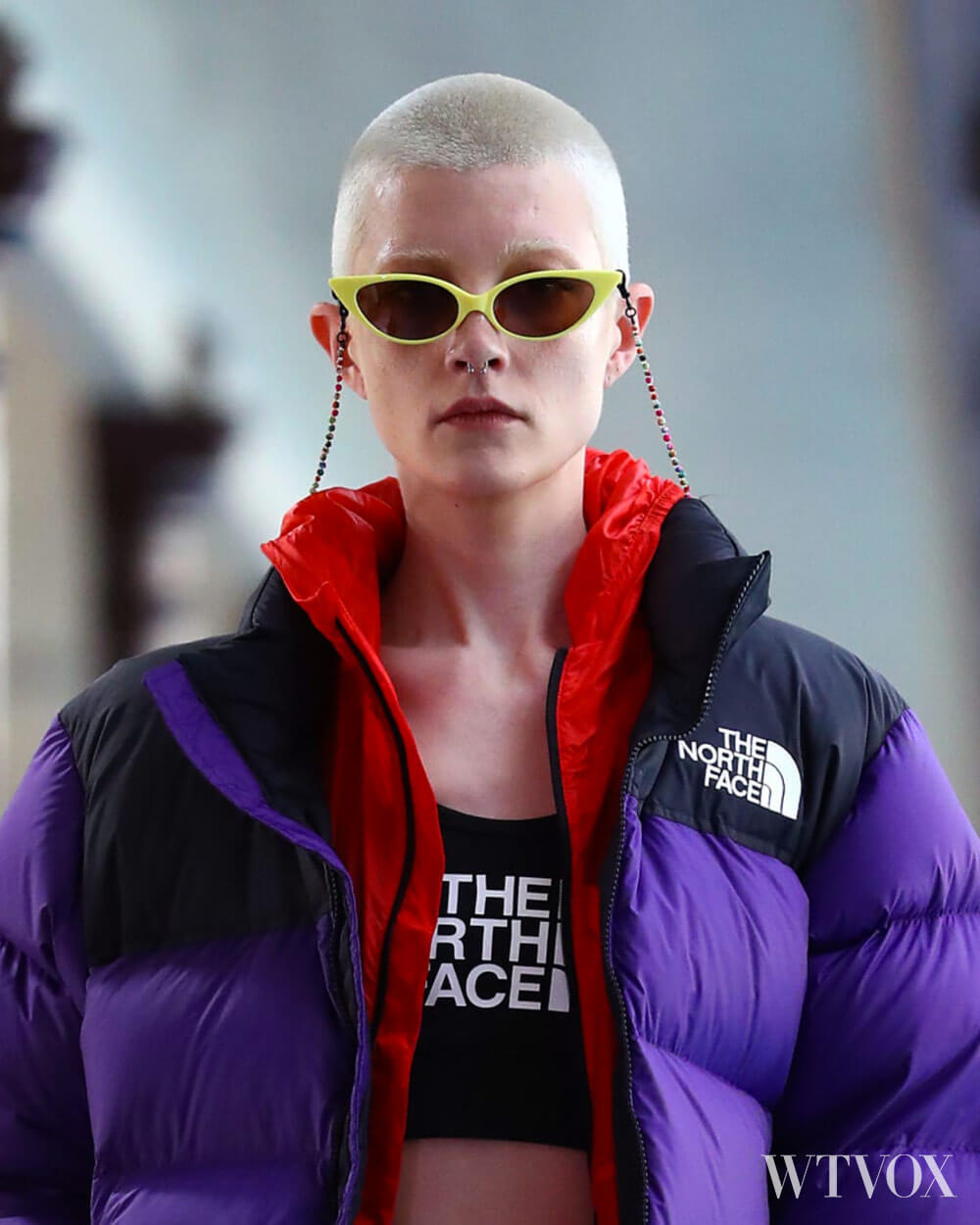 The North Face Outdoor clothing brand