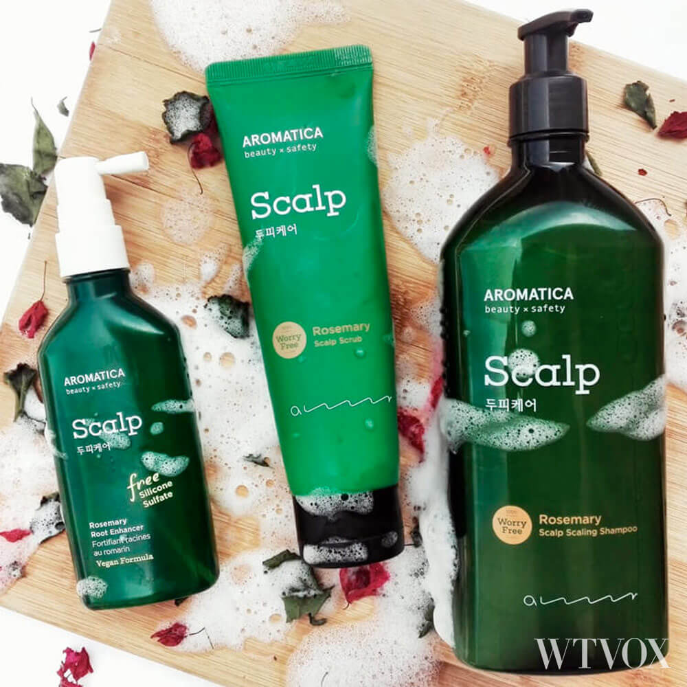 Aromatica sustainable haircare products