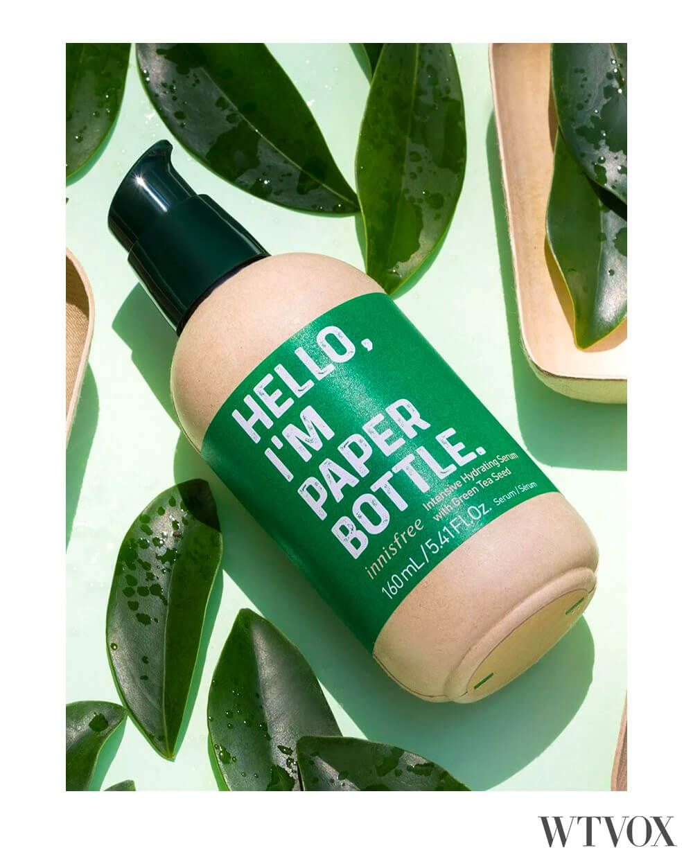 Plastic free packaging for cosmetics and haircare