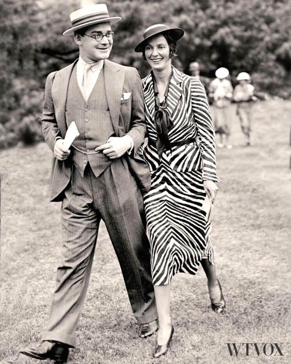 1930s vintage fashion