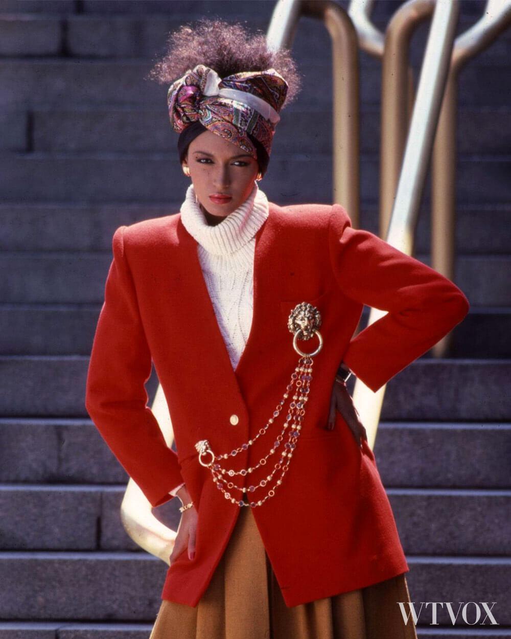 1980s vintage fashion