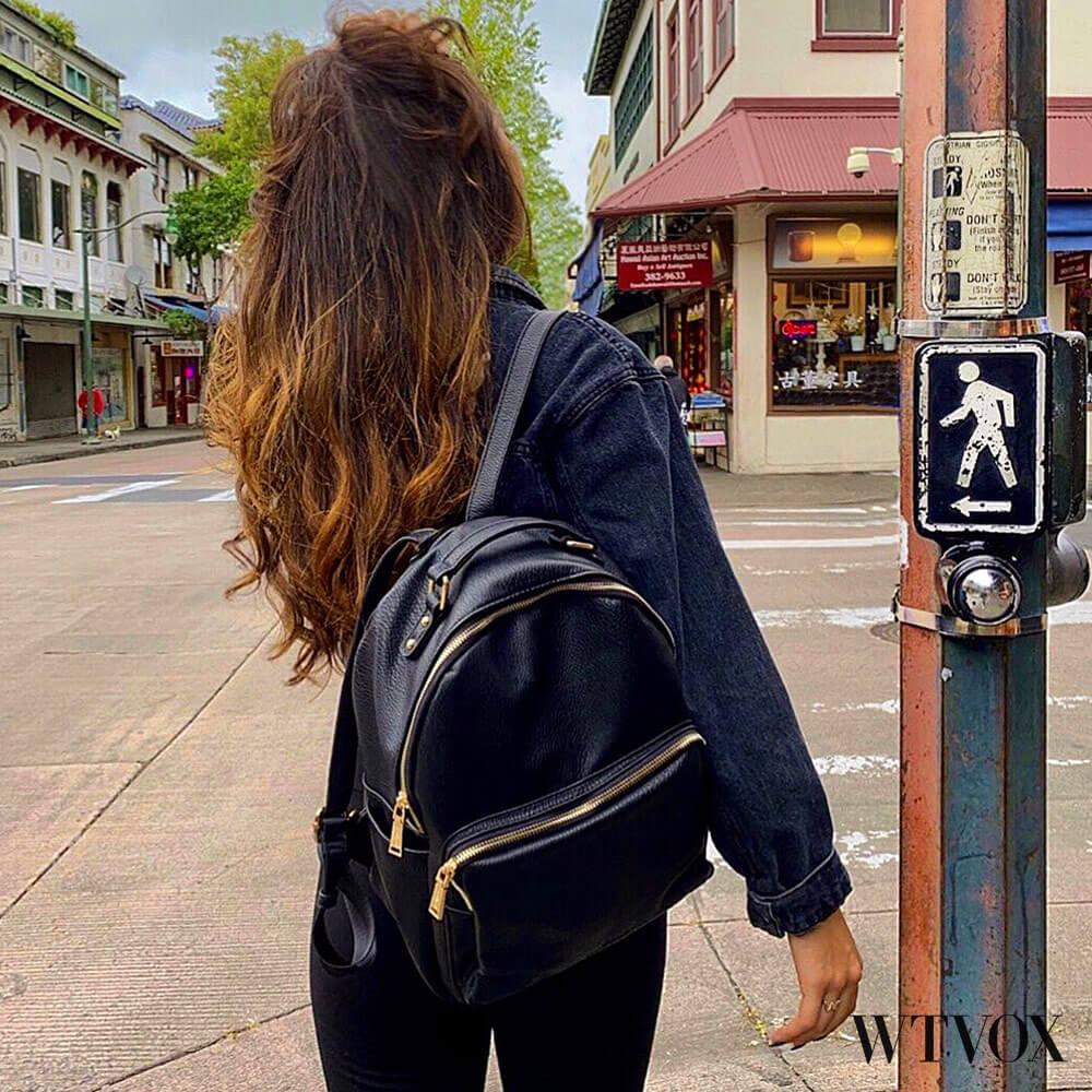 Urbag Original vegan leather backpack