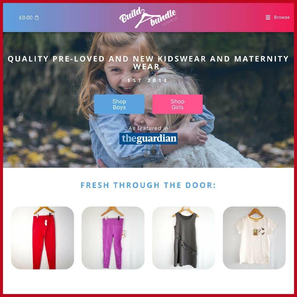 Build a Bundle online thrift store