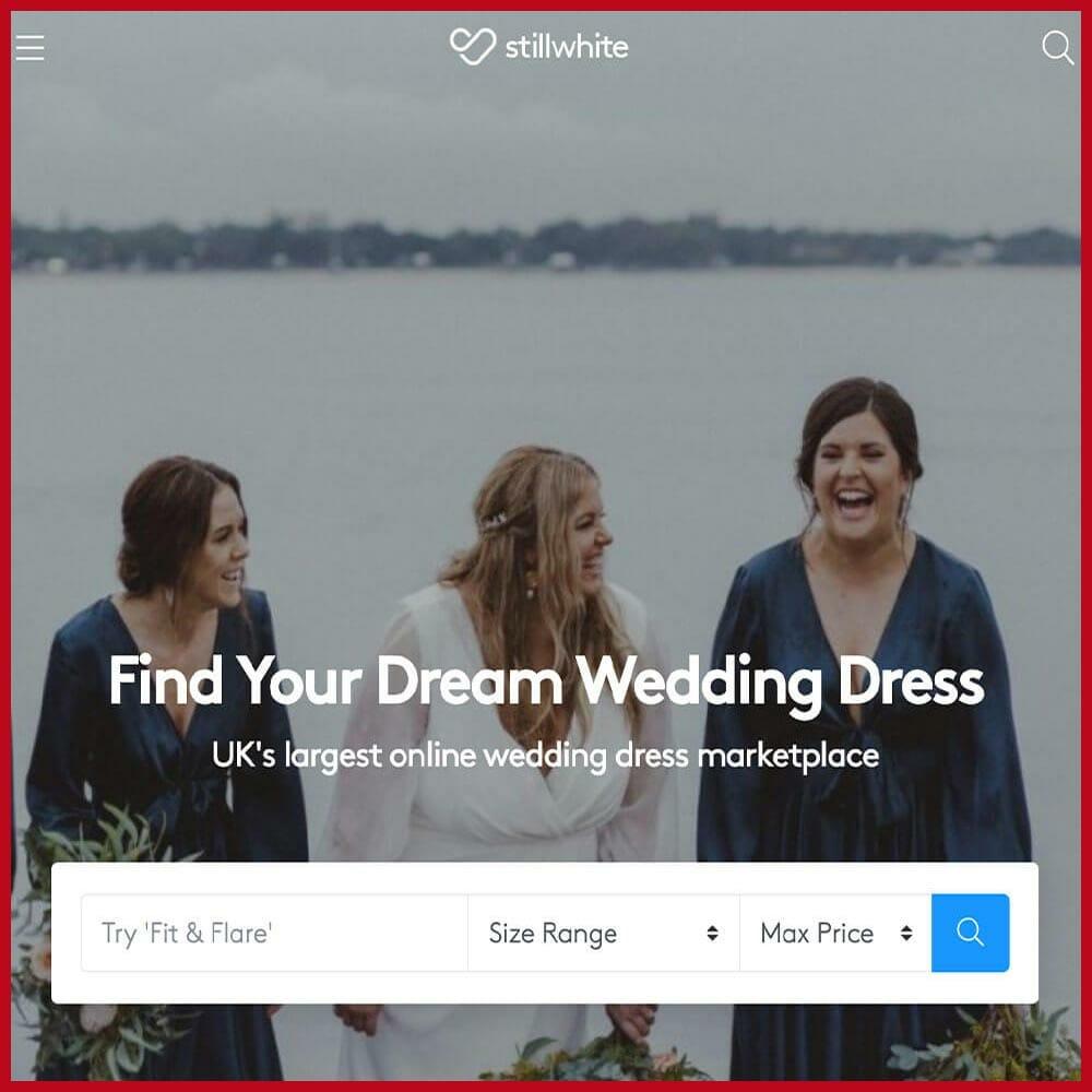 Still White online wedding dress reseller