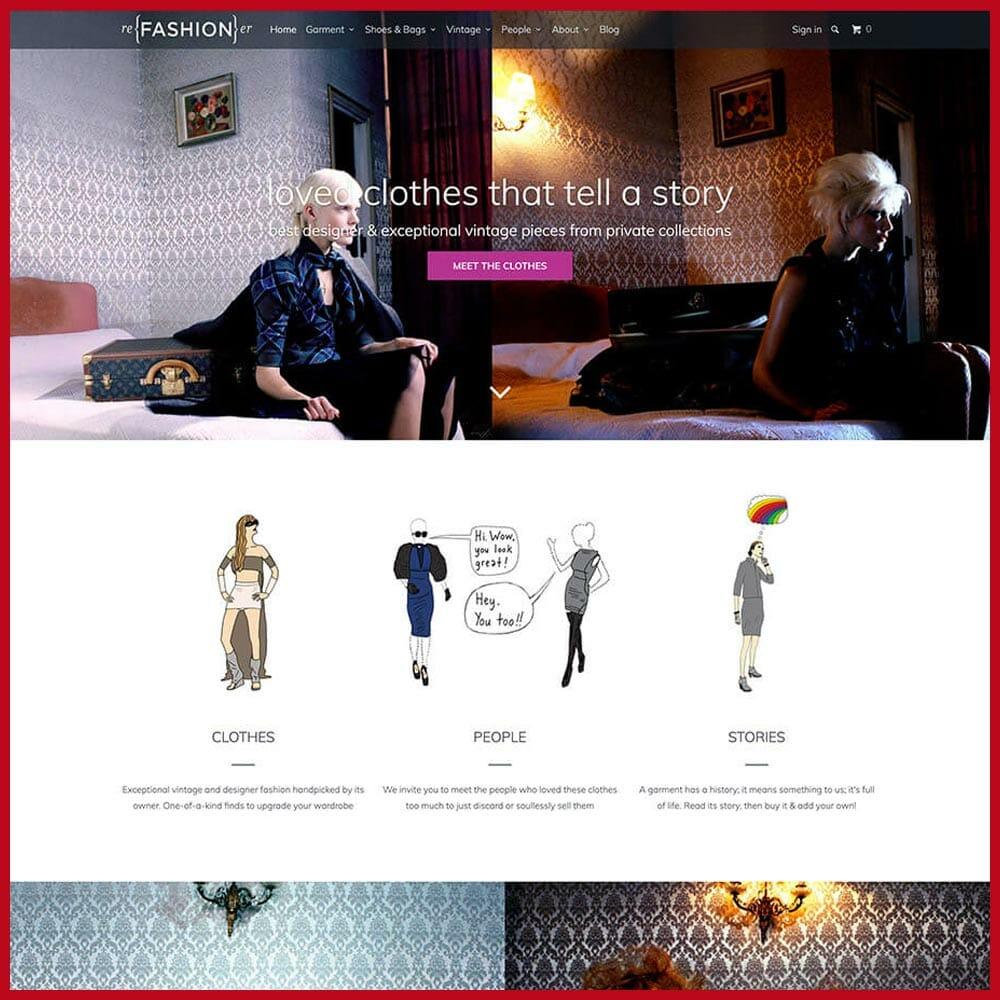 Refashioner online thrift store