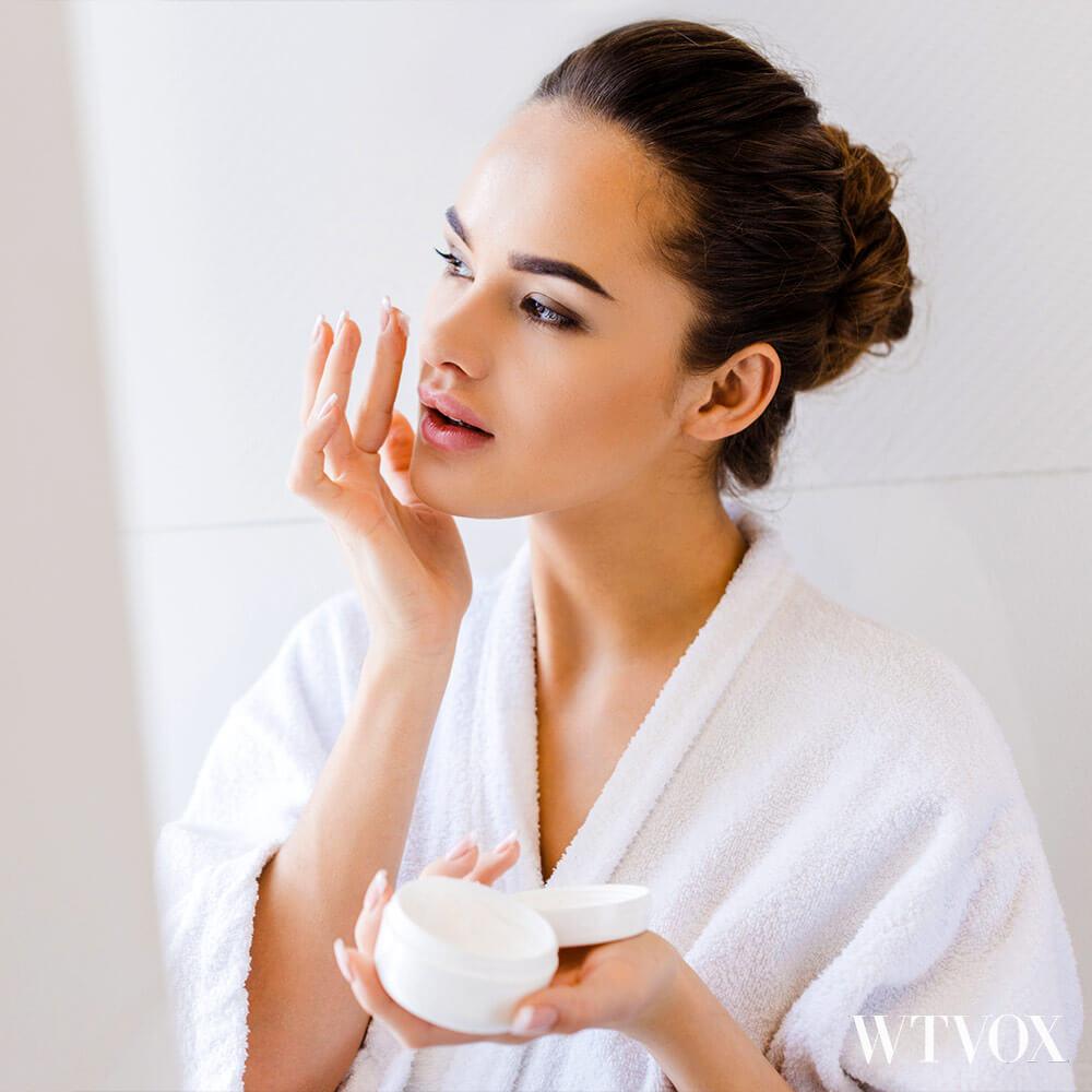 Skin moisturizer for skin care routine