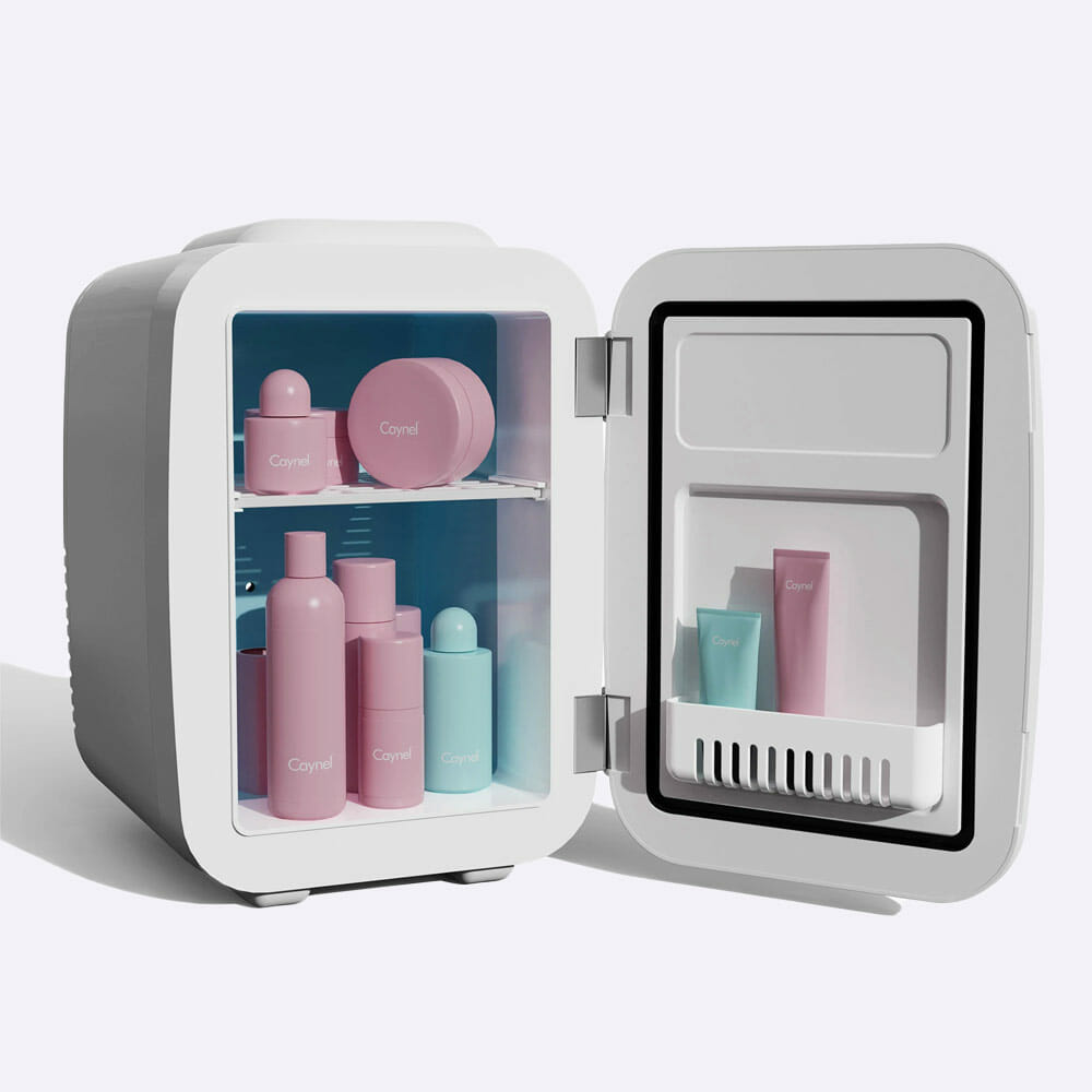 Caynel mini skincare fridge