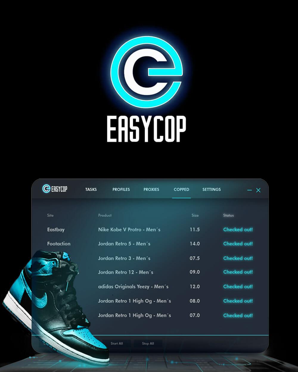 Easybot sneaker bot