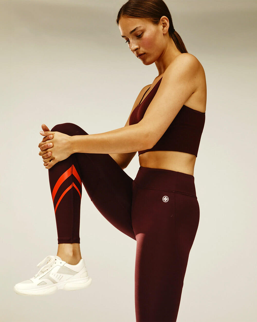Tory Burch gym leggings