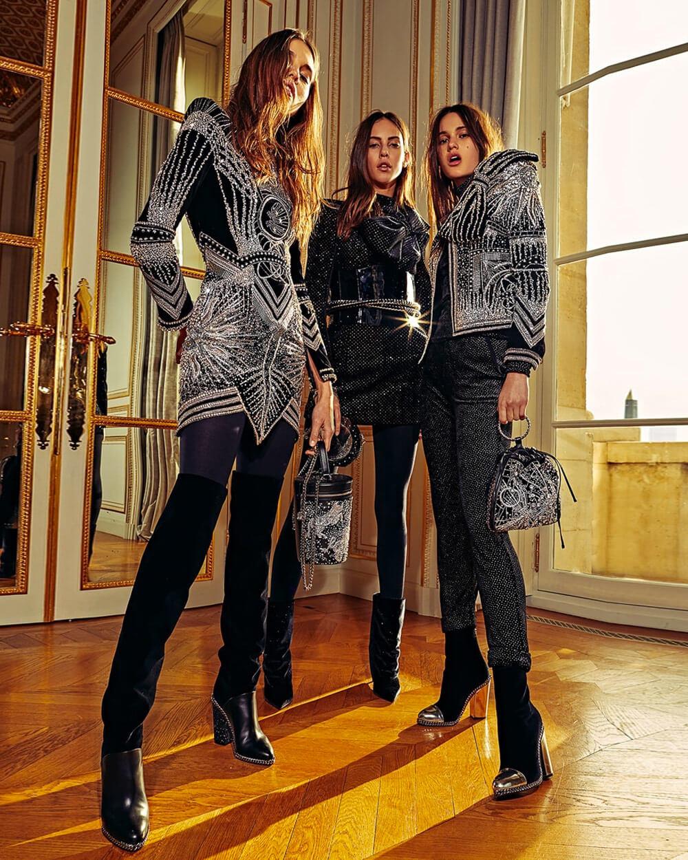 Balmain - top fashion brands of 2021