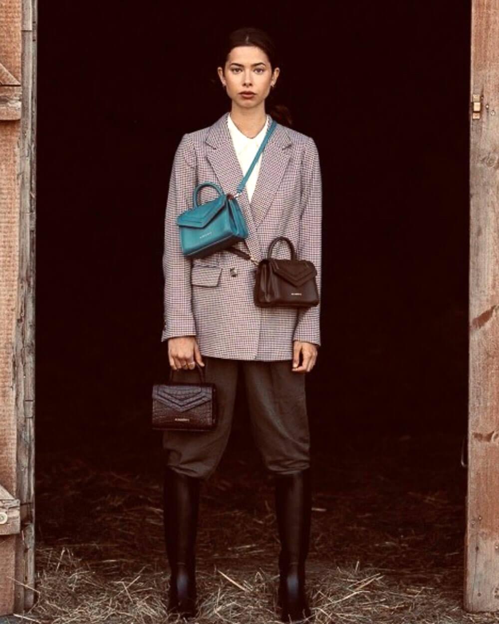 Alexandra K vegan handbag