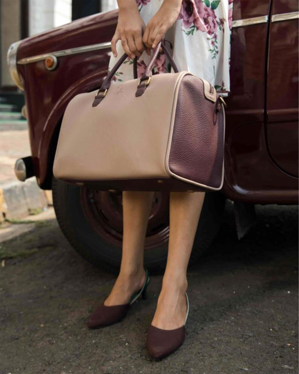 Funky Kalakar vegan leather handbags