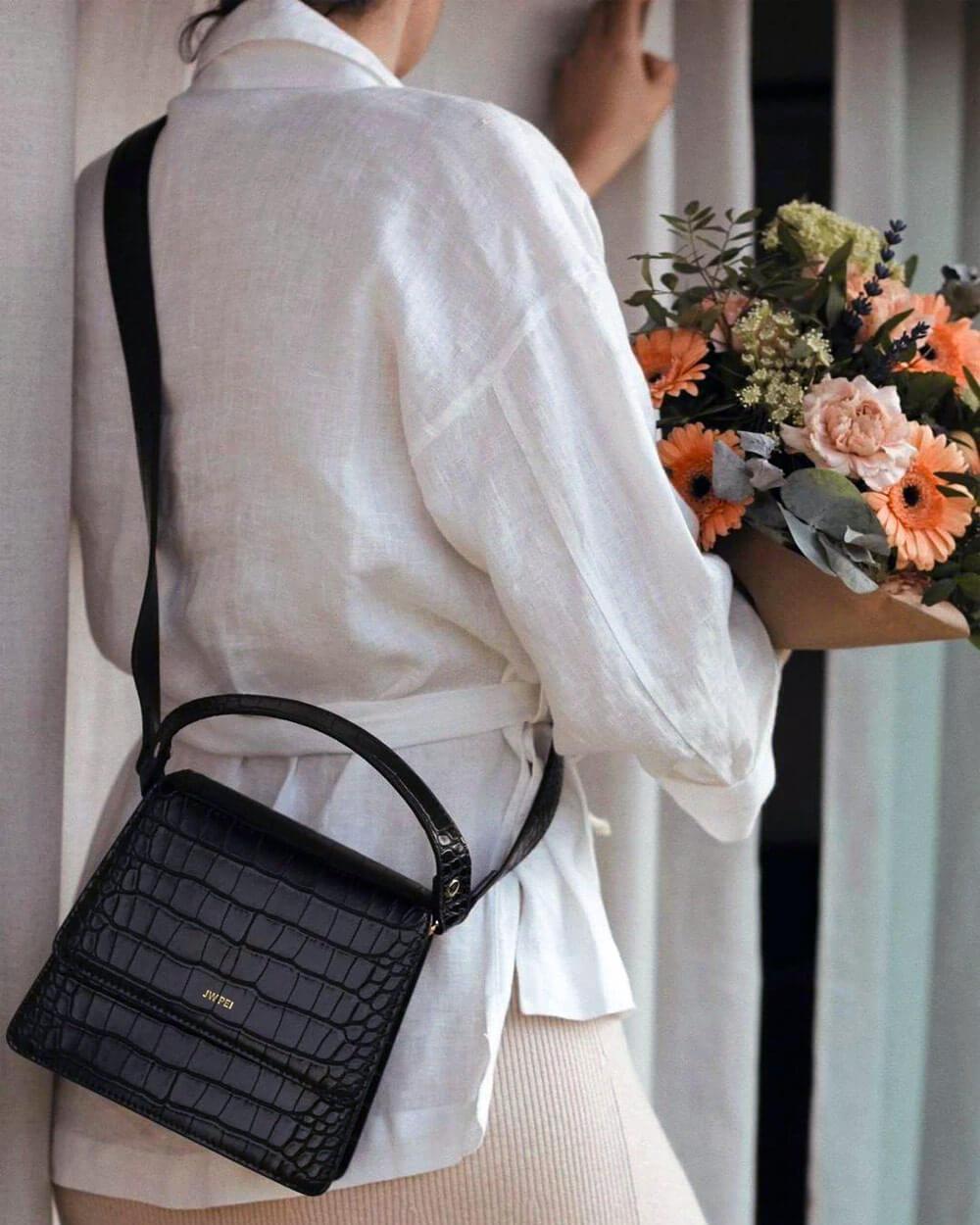 JW PEI vegan leather handbags