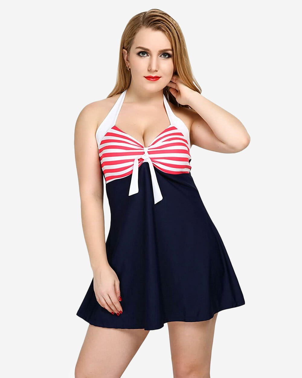 Vintage Sailor Pin Up Swimsuit COCOSHIP