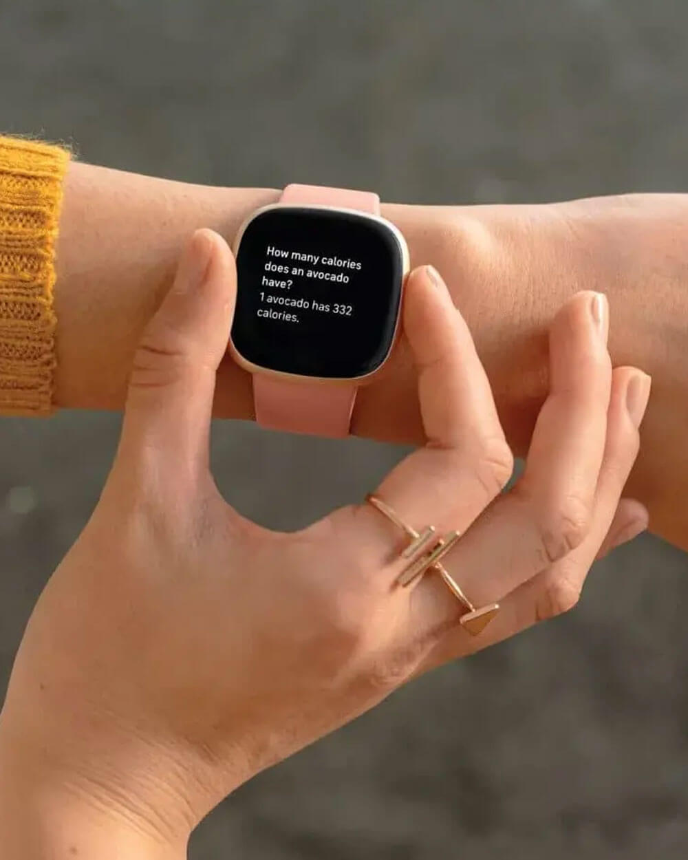Fitbit Versa 3 fitness tracker