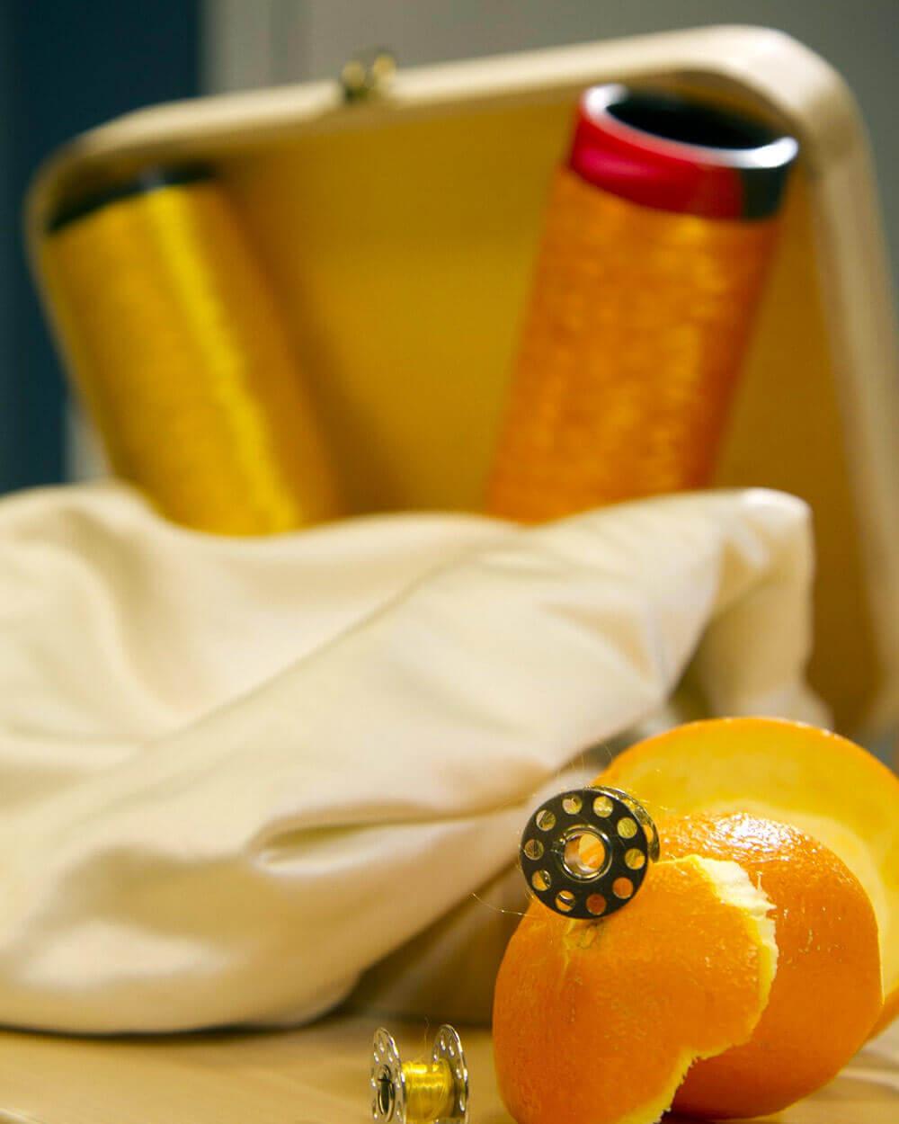 Fabrics from oranges