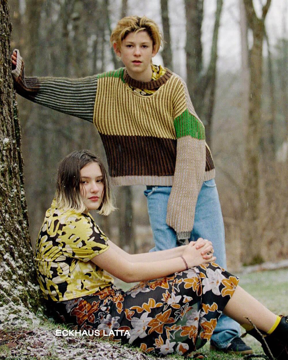Eckhaus Latta Androgynous clothing