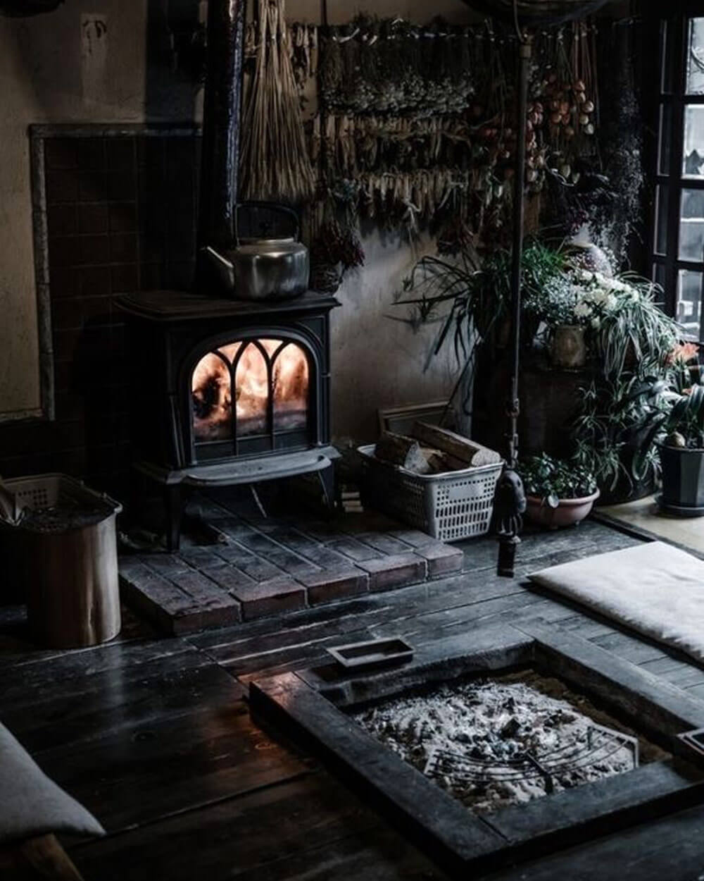 Dark Cottagecore aesthetics