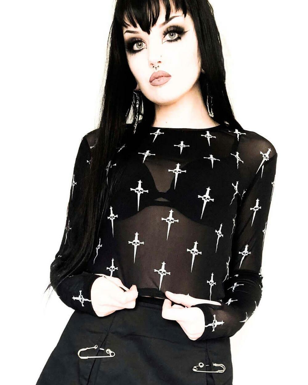Lip Service gothic fashion