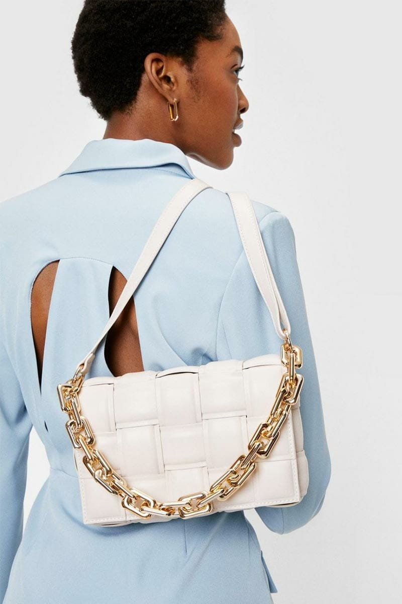 How to look rich on budget - Nasty Gal shoulder bag