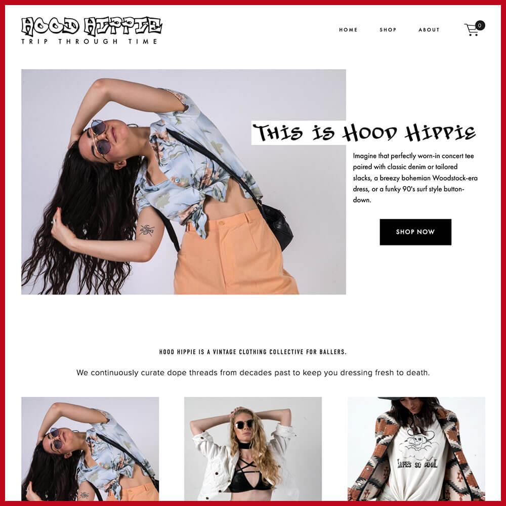 Hood Hippie online thrift store 2021