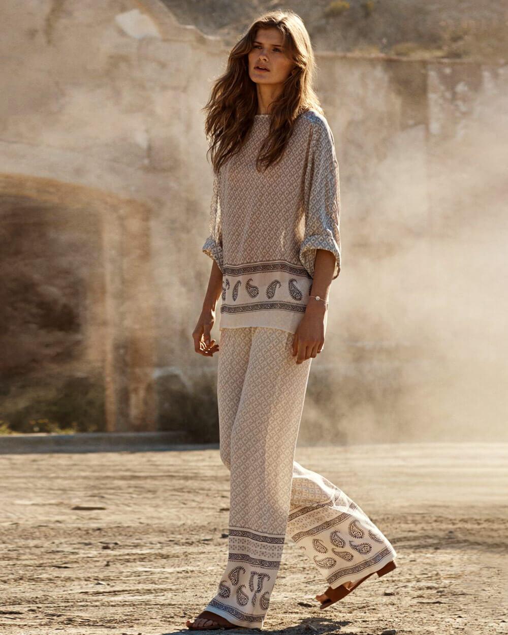 H&M boho style clothing stores like Anthropologie