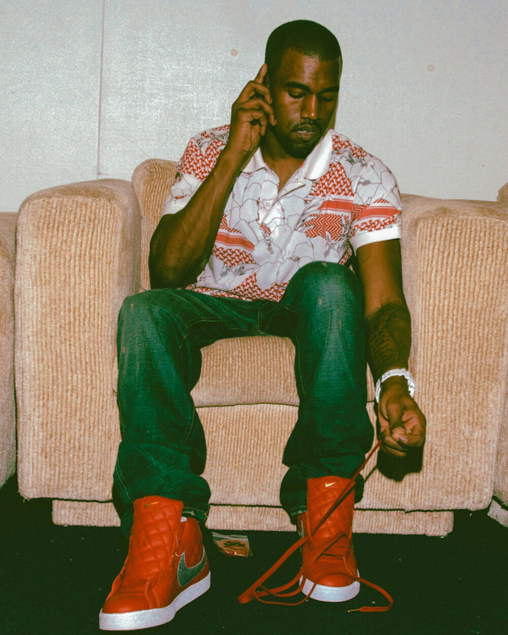 Kanye West at the Grammy Foundations Starry Night